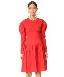 Sonia By Sonia Rykiel | Платье Из Ткани В Рубчик С Длинными Рукавами