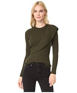 Fuzzi | Ruffle Sweater