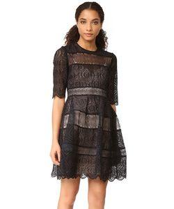Zimmermann | Расклешенное Мини-Платье Adorn С Вышивкой