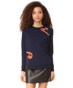 Sonia By Sonia Rykiel | Пуловер С Английскими Булавками В Технике Интарсия
