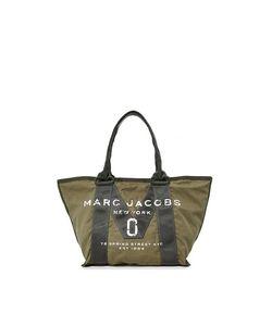 Marc Jacobs | Новая Маленькая Объемная Сумка С Короткими Ручками И Логотипами
