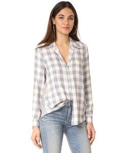 L'Agence | Рубашка Denise С Контрастной Отделкой