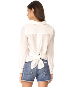 L'Agence | Блуза Hana С Завязками На Спине