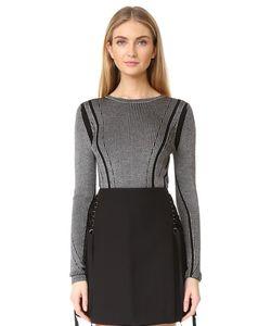 Diane Von Furstenberg | Трикотажный Пуловер С Длинными Рукавами