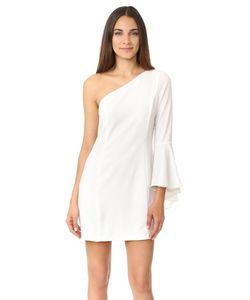 WAYF | Платье На Одно Плечо С Расклешенными Рукавами