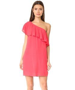 WAYF | Платье С Открытым Плечом И Оборками Conway