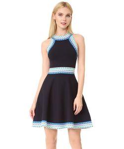 Milly | Расклешенное Платье С Плетеной Отделкой