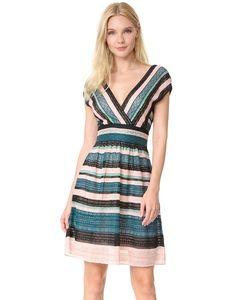 Missoni | Мини-Платье С V-Образным Вырезом