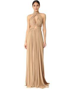 Maria Lucia Hohan | Макси-Платье Moss С Американской Проймой