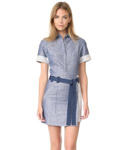 Grey Jason Wu | Платье-Рубашка С Короткими Рукавами