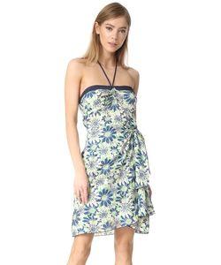 Anna Sui | Платье С Американской Проймой Daisies