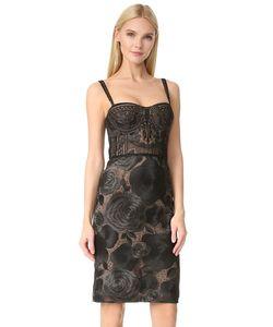 Marchesa Notte | Коктейльное Платье-Бюстье