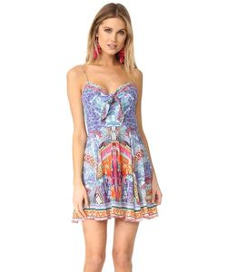 Camilla | Платье С Завязкой Спереди