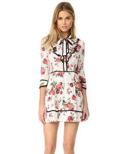re:named | Платье С Цветочным Рисунком И Завязками У Выреза