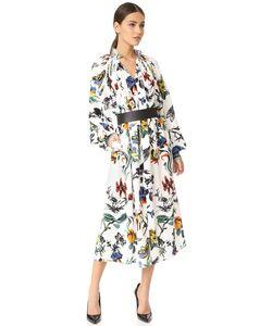 Tibi | Платье Edwardian В Готическом Стиле С Цветочным Рисунком