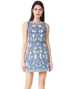 Alice + Olivia | Объемное Платье Lindsey С Вышивкой