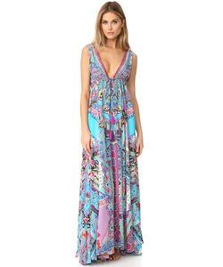 Camilla | Длинное Платье С V-Образным Вырезом