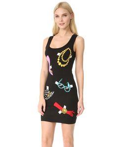 Moschino | Платье Без Рукавов С Принтом