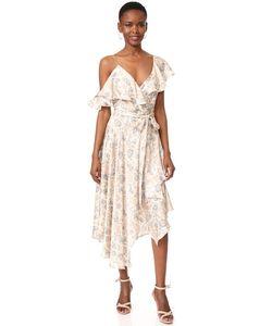Zimmermann | Расклешенное Платье-Халат Stranded
