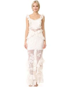 THREE FLOOR | Кружевное Платье Bouquet