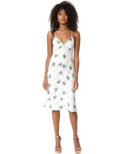 Milly | Платье Косого Кроя С Перекрещенными Бретельками На Спине