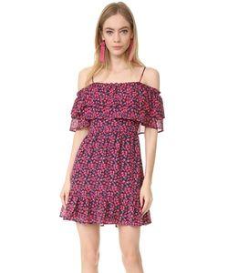 WAYF | Платье Daria С Открытыми Плечами И Оборками