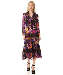 Saloni | Платье Alyssa