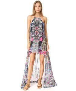 Camilla | Платье С Прозрачным Накладным Элементом
