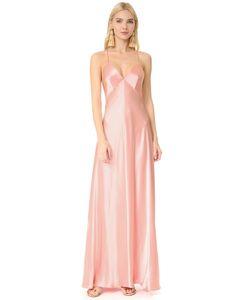 JILL JILL STUART | Атласное Вечернее Платье-Комбинация