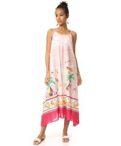 Kate Spade New York | Пляжное Макси-Платье Orangerie