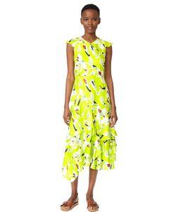 TANYA TAYLOR | Платье Wren С Цветочным Рисунком