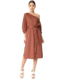 Tibi | Миди-Платье На Одно Плечо