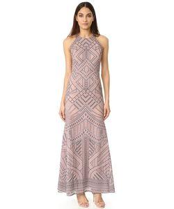 BCBGMAXAZRIA | Сетчатое Вечернее Платье Со Вставками
