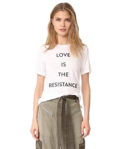 Prabal Gurung   Футболка Love Is The Resistance