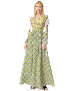 MSGM | Макси-Платье С Принтом В Стиле Шарфа