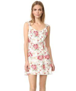 WAYF | Платье-Трапеция Iris С Завязками На Спине