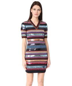 Dsquared2 | Платье В Полоску С Короткими Рукавами