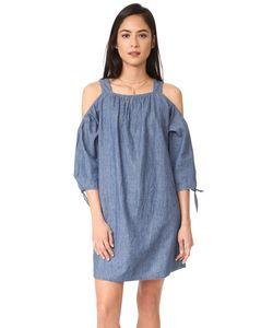 Madewell | Платье Из Ткани Шамбре С Открытыми Плечами