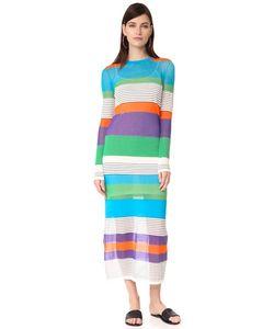 Diane Von Furstenberg | Трикотажное Платье С Цветными Блоками