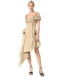 Monse | Платье С Открытыми Плечами