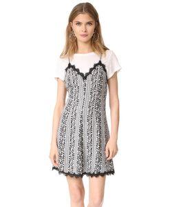 Alice + Olivia   Расклешенное Платье Alves Cross
