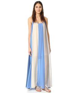 Line & Dot | Макси-Платье El Ray С Цветными Блоками