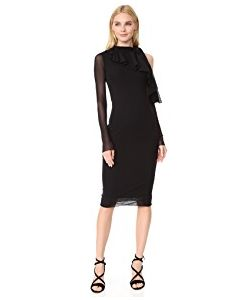 Fuzzi | Cold Shoulder Fitted Dress