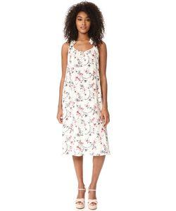 J.O.A. | Макси-Платье С Цветочным Принтом