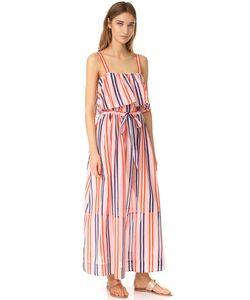 Diane Von Furstenberg | Двухъярусное Платье Без Рукавов