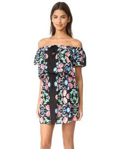 Nanette Lepore | Пляжное Платье Damask С Открытыми Плечами И Цветочным Рисунком
