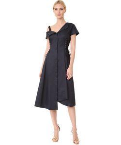Jason Wu | Асимметричное Платье На Шнуровке