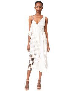 Diane Von Furstenberg | Асимметричное Кружевное Платье-Халат Twig