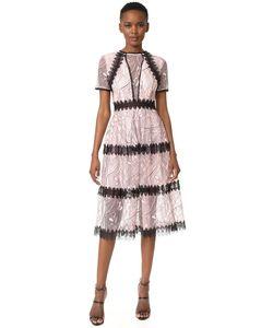 Nicholas   Кружевное Миди-Платье Со Вставками Iris