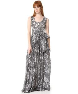 Diane Von Furstenberg | Плиссированное Платье До Пола